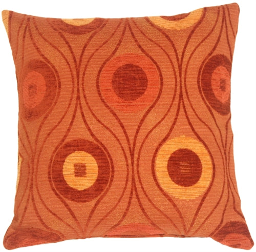 Pods in Rust Throw Pillow