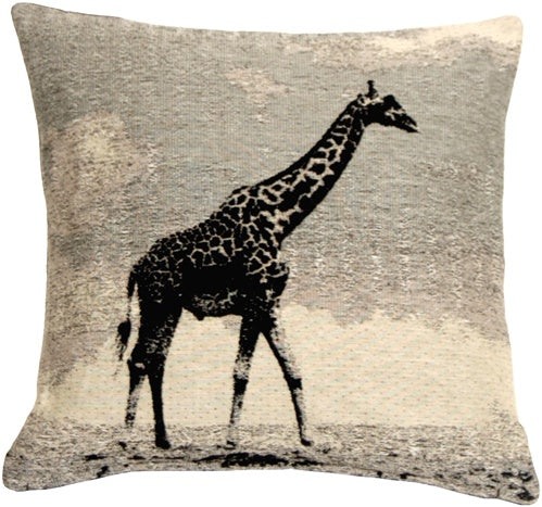Giraffe 17x17 Decorative Pillow