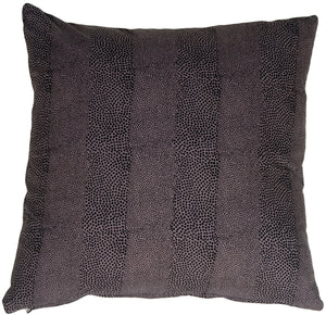 Cobra Print Cotton Small Throw Pillow