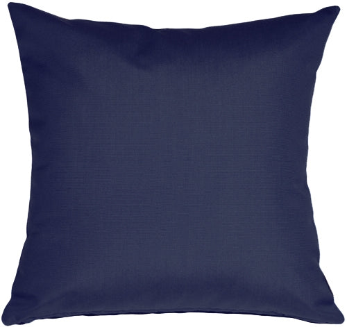 Sunbrella Navy Blue 20x20 Outdoor Pillow