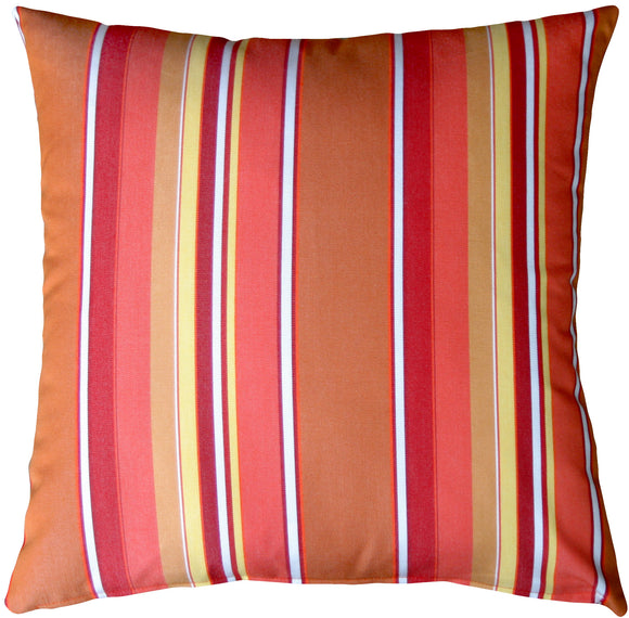 Sunbrella Dolce Mango 20x20 Outdoor Pillow