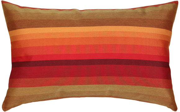 Sunbrella Astoria Sunset 12x20 Outdoor Pillow