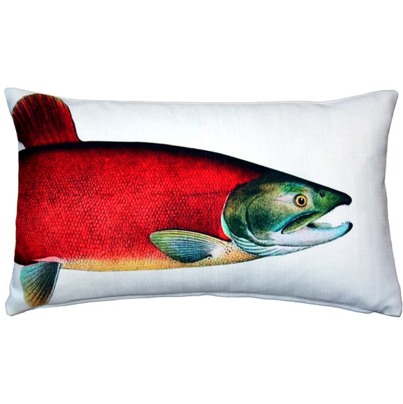 Salmon Fish Pillow 12x20
