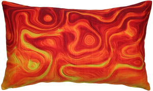 Catching Fire Throw Pillow 12x20