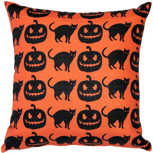 Halloween Decor Throw Pillow 17x17