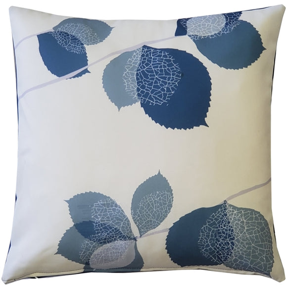 Winter Leaves Throw Pillow 17x17