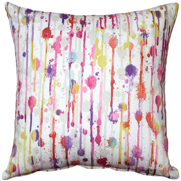 Paint Deco Fiesta Throw Pillow 15x15