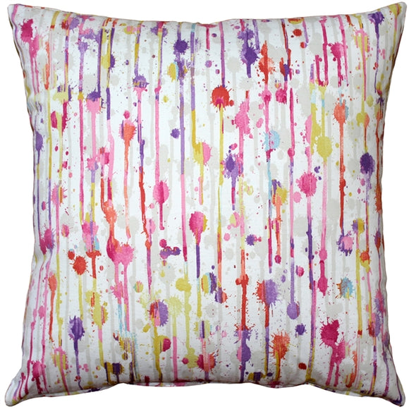 Paint Deco Fiesta Throw Pillow 20x20