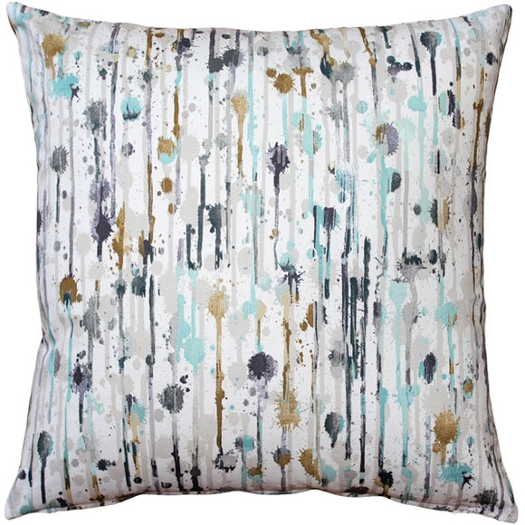 Paint Deco Storm Throw Pillow 15x15