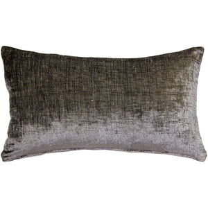 Venetian Velvet Lumbar Throw Pillow 12x20