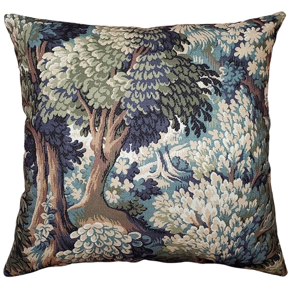Somerset Woods by Day Throw Pillow 24x24