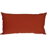 Caravan Cotton Rust 9x18 Throw Pillow