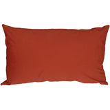 Caravan Cotton Rust 12x19 Throw Pillow