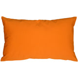 Caravan Cotton Orange 12x19 Throw Pillow