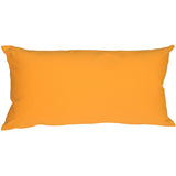 Caravan Cotton  Amber Yellow 9x18 Throw Pillow