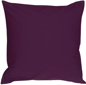 Caravan Cotton Purple 18x18 Throw Pillow