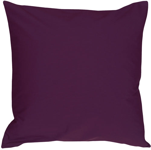 Caravan Cotton Purple 23x23 Throw Pillow