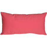 Caravan Cotton Pink 9x18 Throw Pillow