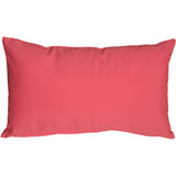 Caravan Cotton Pink 12x19 Throw Pillow