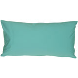 Caravan Cotton Turquoise 9x18 Throw Pillow