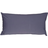 Caravan Cotton Denim Blue 9x18 Throw Pillow