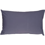Caravan Cotton Denim Blue 12x19 Throw Pillow