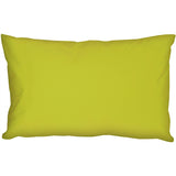 Caravan Cotton Lime Green 12x19 Throw Pillow
