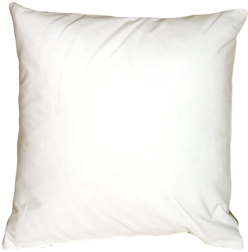 Caravan Cotton White 18x18 Throw Pillow