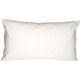 Caravan Cotton White 9x18 Throw Pillow