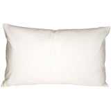 Caravan Cotton White 12x19 Throw Pillow
