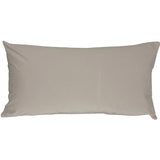 Caravan Cotton Light Gray 9x18 Throw Pillow