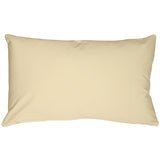 Caravan Cotton Cream 12x19 Throw Pillow