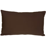 Caravan Cotton Brown 12x19 Throw Pillow