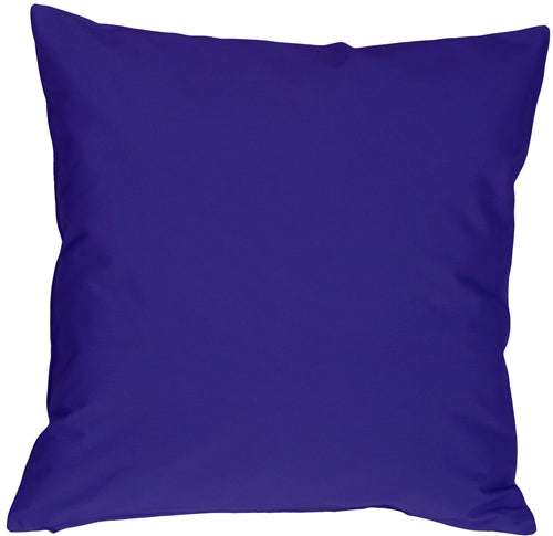 Caravan Cotton Royal Blue 23x23 Throw Pillow