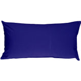 Caravan Cotton Royal Blue 9x18 Throw Pillow