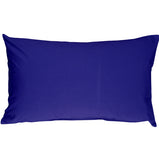 Caravan Cotton Royal Blue 12x19 Throw Pillow