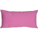 Caravan Cotton Violet 9x18 Throw Pillow