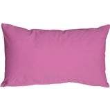 Caravan Cotton Violet 12x19 Throw Pillow