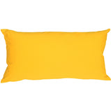 Caravan Cotton Yellow 9x18 Throw Pillow