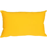 Caravan Cotton Yellow 12x19 Throw Pillow