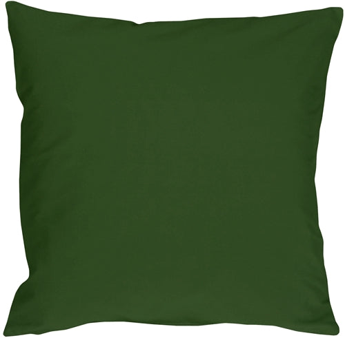 Caravan Cotton Forest Green 23x23 Throw Pillow