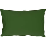Caravan Cotton Forest Green 12x19 Throw Pillow
