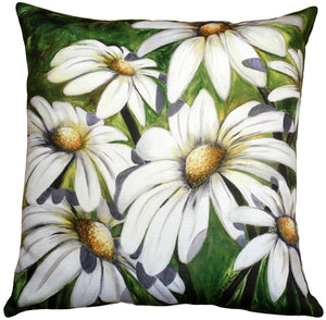 Daisy Patch 20x20 Throw Pillow