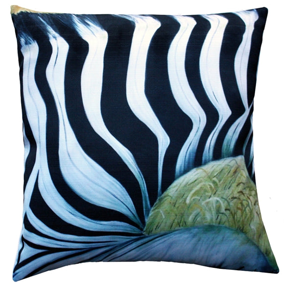 Forzani Zebra Throw Pillow 20x20 SQ