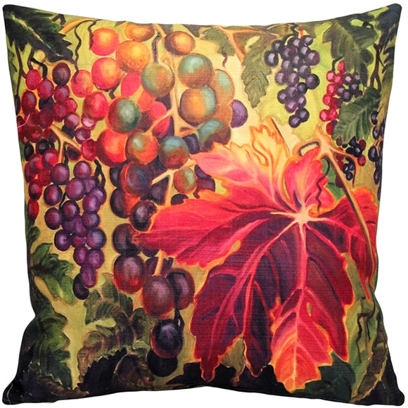Summer Vine 20x20 Throw Pillow