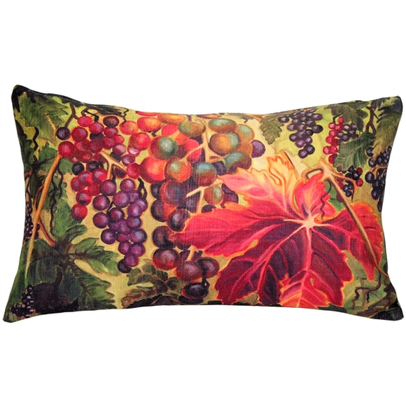 Summer Vine 12x20 Throw Pillow