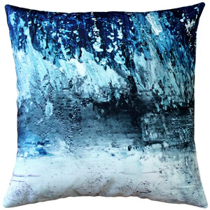 Winter Storm Throw Pillow 20x20