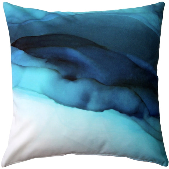 Beneath the Waves Throw Pillow 20x20