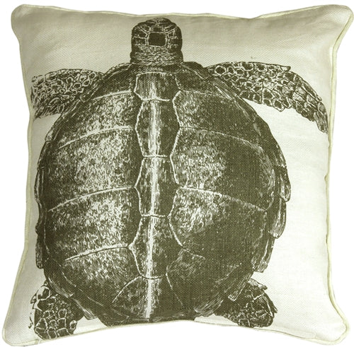 Thomas Paul Turtle Lichen 18X18 Throw Pillow