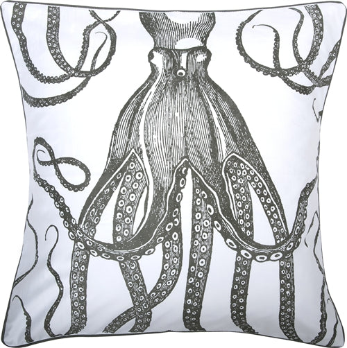 Thomas Paul Octopus 18X18 Throw Pillow